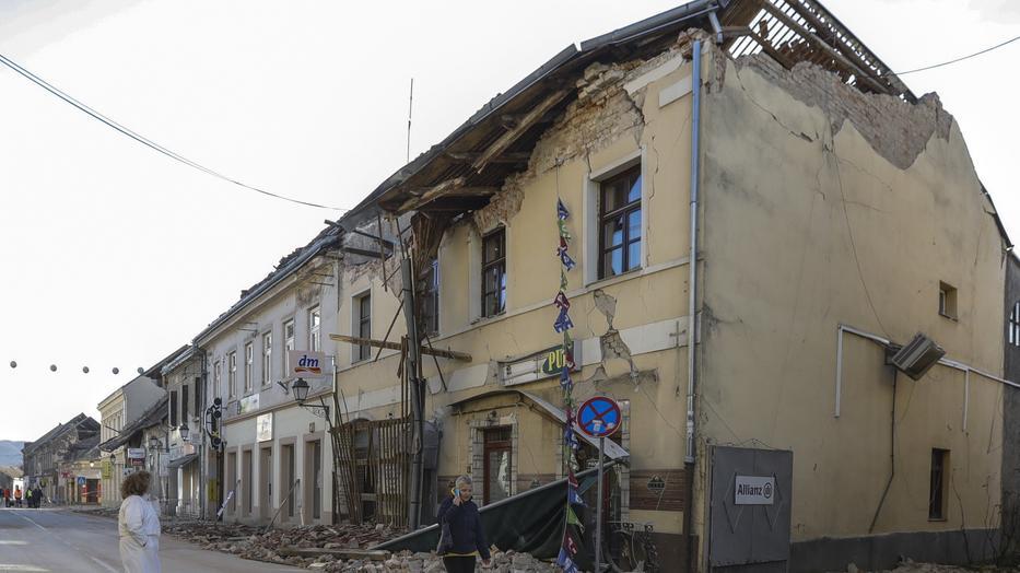 földrengés fogyás
