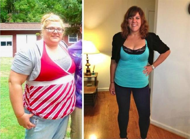 elképesztő fogyás előtte és utána 40 és nehezen fogy