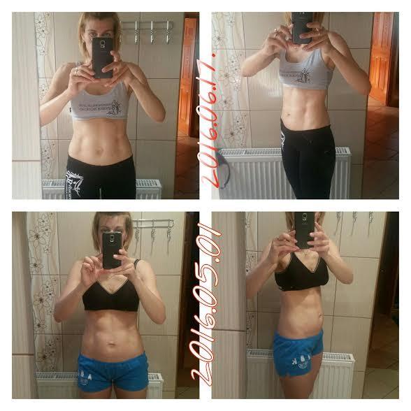1 hónap alatt 6 kg fogyás