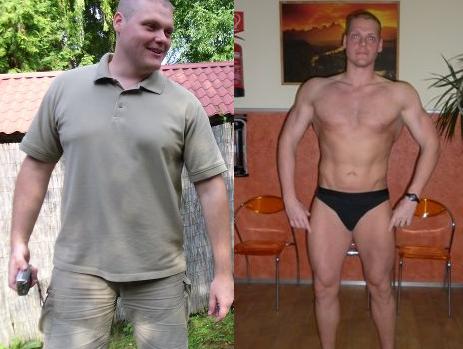 Fogyás 44 éves férfi