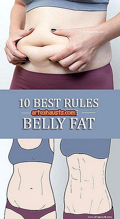 A legjobb módszer a zsíros has elvesztésére. Fogyás ital, hogy otthon