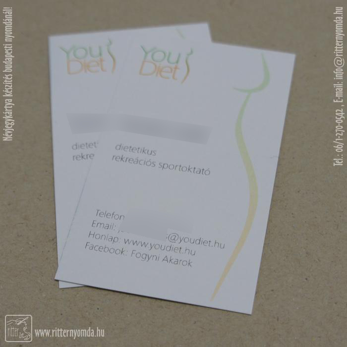 Fogyás névjegykártya. Vásárlói vélemények