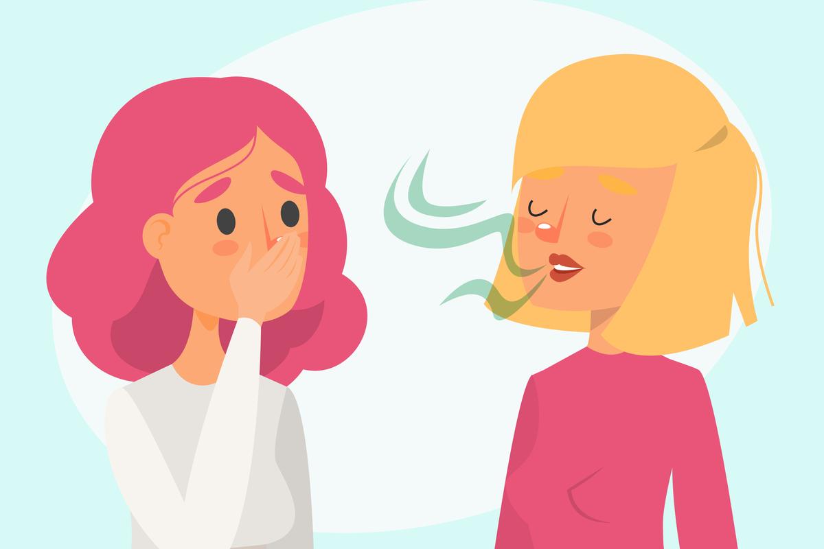 megmagyarázhatatlan fogyás és rossz lehelet