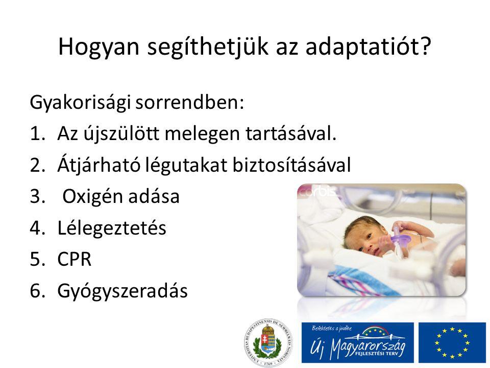 irányelvek újszülött fogyás