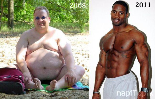 súlycsökkenés átalakulása 4 hónap alatt