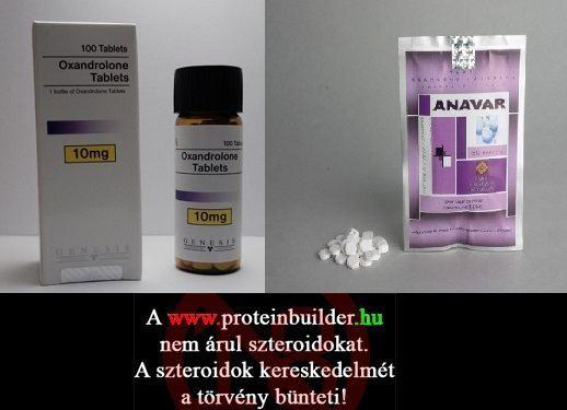Szteroid információk - Oxandrolone fogyás