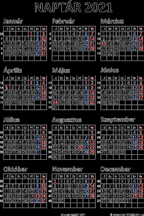 súlycsökkentő naptár 2021 nyomtatható