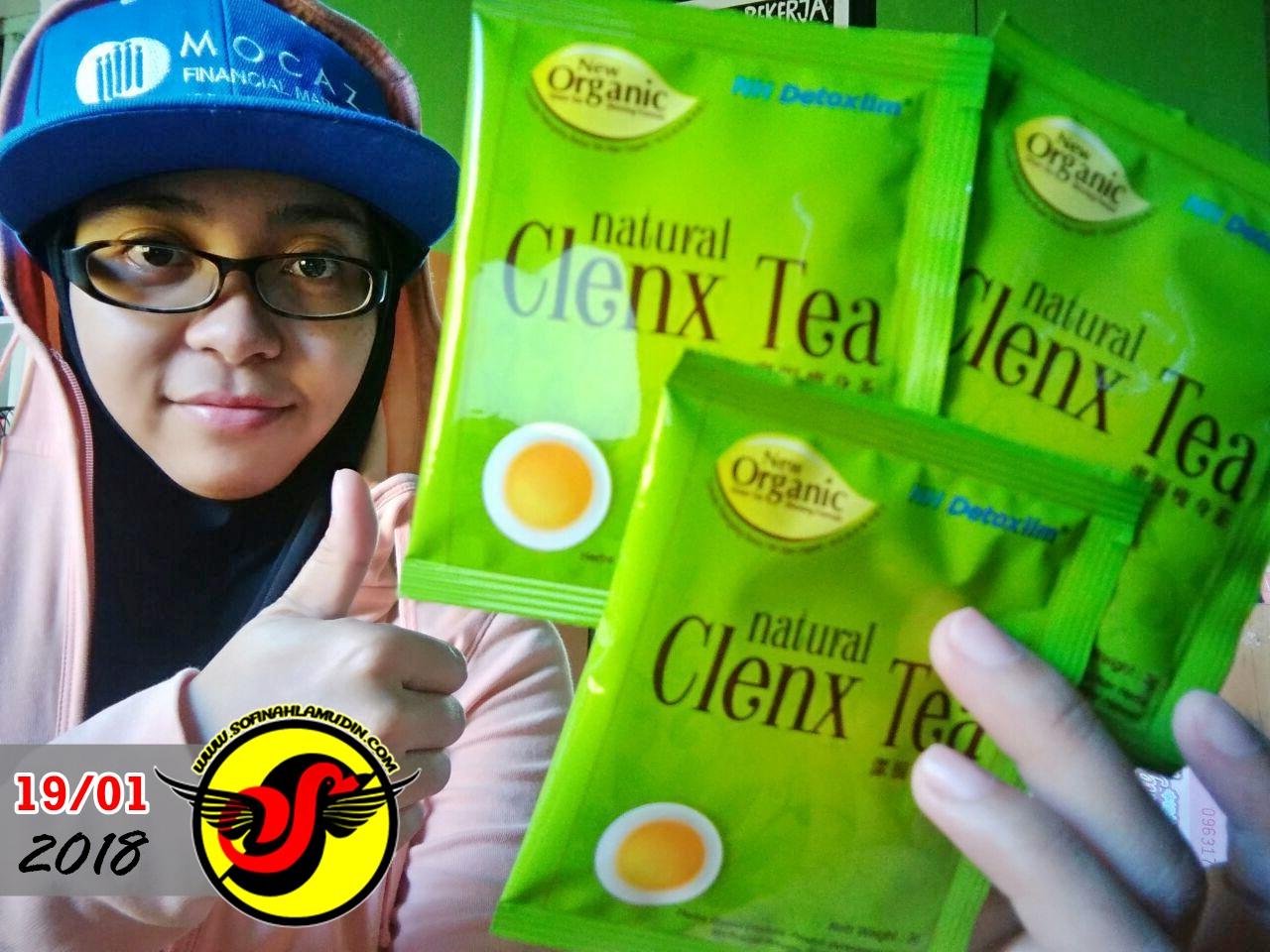 természetes clenx tea fogyás