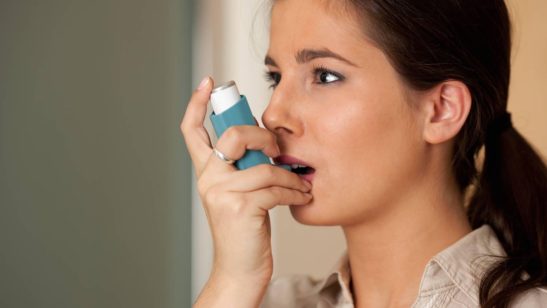 asztmás roham és fogyás