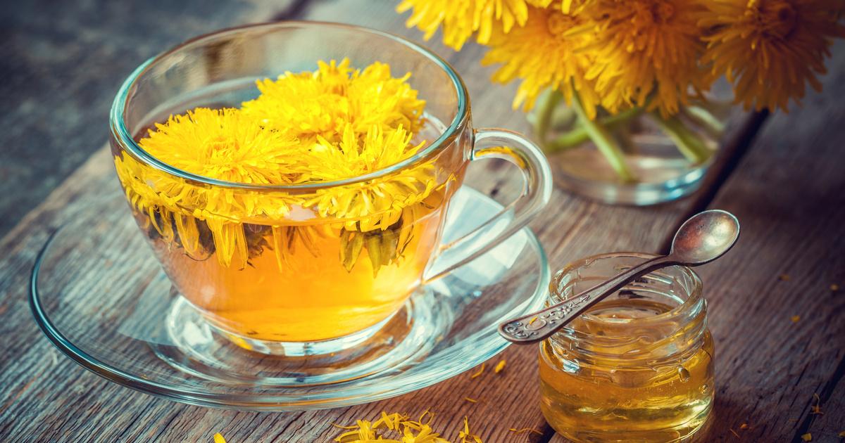 pitypang tea a fogyás eredményéhez