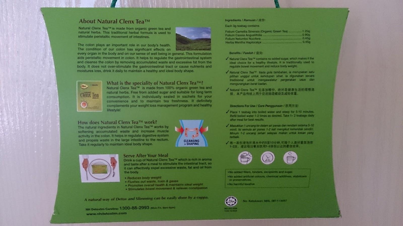 természetes clenx tea fogyás zsírégető természetes kiegészítő