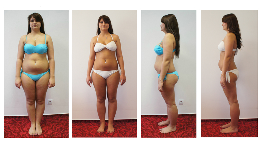 fogyás 3 hónappal előtte és utána