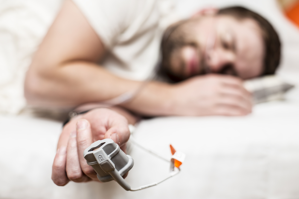 súlycsökkenés és központi alvási apnoe