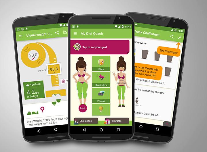 legnépszerűbb fogyókúrás alkalmazások 2021