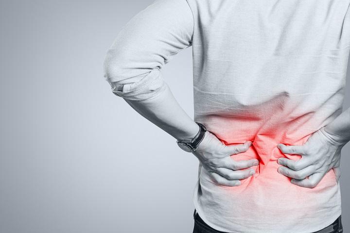 az alsó hátfájás miatti fogyás