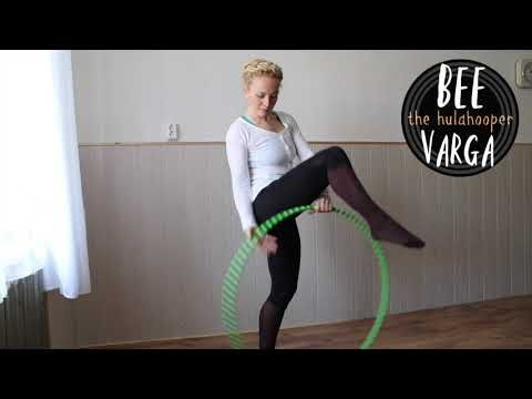 Bee Varga The Hulahooper - YouTube   Hula hoop, Youtube, Sports bra