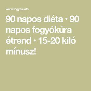 90 fogyás kihívás