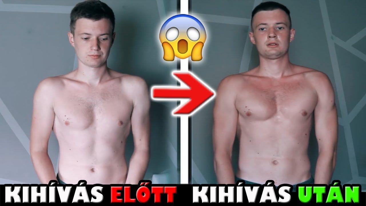 test átalakulás fogyás kihívás