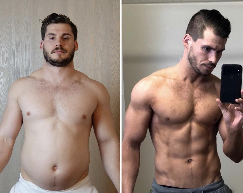1 éves fogyás átalakulás