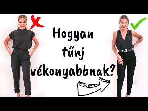 Test karcsúsító viselet. A 4 legjobb karcsúsító tipp - Szépség és divat | Femina